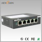 Interruptor portuário elétrico do Desktop do interruptor de rede do acesso 5