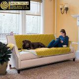 O café do poliéster Pets o protetor reversível de luxe da mobília do sofá