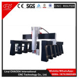 Máquina de gravura da estaca do CNC da linha central do disconto 5 para a escultura de madeira