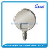 Manômetro hidráulico - Manómetro hidráulico - Medidor de pressão de aço inoxidável - Medidor de pressão de vapor