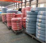 Boyau flexible de double boyau en caoutchouc de pétrole hydraulique pour SAE100r2-13