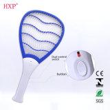 Raqueta eléctrica del Swatter del mosquito con la luz del LED