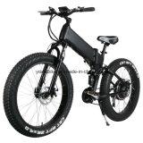 4.0 타이어를 가진 산 가득 차있는 현탁액 전기 자전거