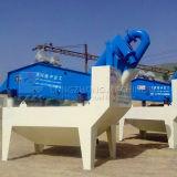 Feiner Sand, der Maschine aufbereitet