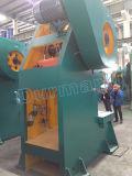 J21-100tons manuelles mechanische Presse-Maschinen-Preis-Eisen-lochende Stahlmaschine