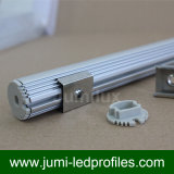Rundes LED-Aluminiumprofil für LED-Streifen