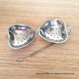Чай Infuser серебра нержавеющей стали высокого качества с формой сердца