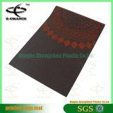 PVCヨガPilateのためのヨガのマットの習慣によって印刷されるマットはフルカラーのデジタルによって印刷されるヨガのマットを遊ばす