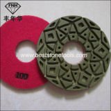 Пусковая площадка диаманта пола смолаы полируя для бетона