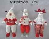 """26 """" 48 """" Hの拡大の脚のクリスマスの装飾へのH"""