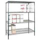 NSF Metro Powder Coating Metal Wire Shelving pour hôpital / pharmacie (HD185463A4C)