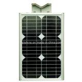 réverbère 20W solaire Integrated avec le détecteur de mouvement de PIR
