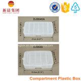 6 de verticale Plastic Doos van het Compartiment