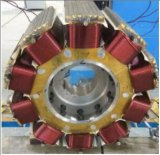 400Hz AC 로 용융 제련을%s 삼상 무브러시 동시 발전기 힘