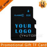 로고 선전용 선물 마이크로 SD TF 메모리 카드 C4/6/10를 실크스크린하십시오