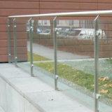 Pasamano de cristal montado soporte del balcón de la venta directa de la fábrica