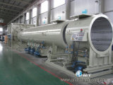 Línea excelente de la protuberancia del tubo del Dual-Hilo del PVC de la máquina del estirador