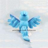 カスタマイズされた詰められたプラシ天のおもちゃの青の鳥