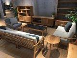 Просто и легкая античная мебель для живущий комнаты