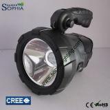 Nueva 5W carga solar de la linterna del CREE LED de Sun DC12V o 100-240VAC