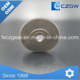 Transmisión de tractores de rueda de engranaje de piñón corona en China piezas de automóvil