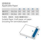 De Bodem die van de Zak van het document Machine met Karton (Zb50S) lijmen