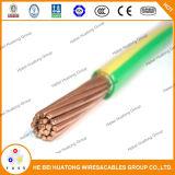 сели на мель 600V, котор провод AWG PVC Indulation Thw 12 медного проводника электрический