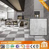 Azulejo de suelo gris de Cemento Matt Porcelana (JX6605T)