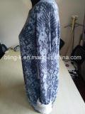Pullover di lavoro a maglia di stampa alla moda per gli uomini