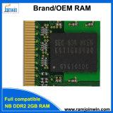 Arbeit mit allem Laptop DDR2 2g 800MHz der Motherboard-8bits RAM