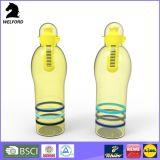 Бутылки пластмассы качества еды 550ml BSCI подгонянные проверкой прочные
