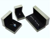 Rectángulo de regalo de lujo del embalaje de la joyería del papel hecho a mano