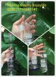 Труба водопровода оптового миниого Recycler бочонка двойника Beaker куря стеклянная