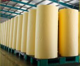 Cinta adhesiva de papel para la aplicación automotora de la pintura en amarillo limón con la muestra libre de la calidad