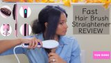 LED Fast Display To hate Straightening Brush To hate Straightener Brush