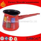 Teiera dello smalto di Sunboat, caldaia, POT del caffè con stampa