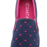 2017 قماش الأحذية النسائية عارضة أزياء أحذية مبركن