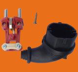2 штепсельная вилка Pin 16A для промышленной черной резиновый штепсельной вилки (P6053)