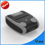 Impressora térmica Handheld Bluetooth do recibo áspero para dispositivos Android
