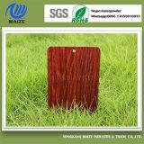 Efecto de madera de la capa del polvo del traspaso térmico para las puertas y el aluminio