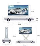 Tabellone esterno del LED di vendita calda che fa pubblicità al rimorchio del camion con P6 P8 P10