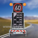 Im Freien Verkehrszeichen-Verkehrssicherheit-Bildschirmanzeige der LED-Bildschirmanzeige-LED