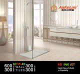 baldosa cerámica de la cocina del cuarto de baño del azulejo de la pared de la inyección de tinta 6D para de interior casero
