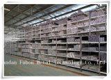 Tube en aluminium de profil d'extrusion de taille faite sur commande anodisée ou de taille normale