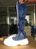 파란 ESD 산업 강철 발가락 PU 유일한 안전 시동