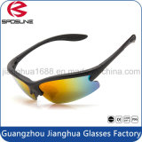 Gafas de sol de la escritura de la etiqueta privada del Mens de Guangdong que completan un ciclo el montar a caballo que conduce los vidrios del encargado del ojo de la pesca que viajan