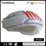 6D ergonomische LED helle Spiel-Maus mit Computer-Mäusen
