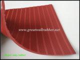 Strato di gomma costolato composito di prezzi poco costosi di gomma della Grande Muraglia Gw3009