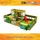 Крытая спортивная площадка для оборудования игры Дубай малышей мягкого