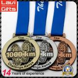 Kundenspezifischer Preis-Sport-laufende Andenken-Medaille mit hochwertigem